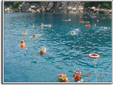 Snorkeling in Koh Samui